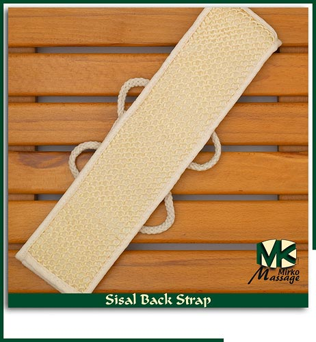Sisal Back Strap      Click to window close